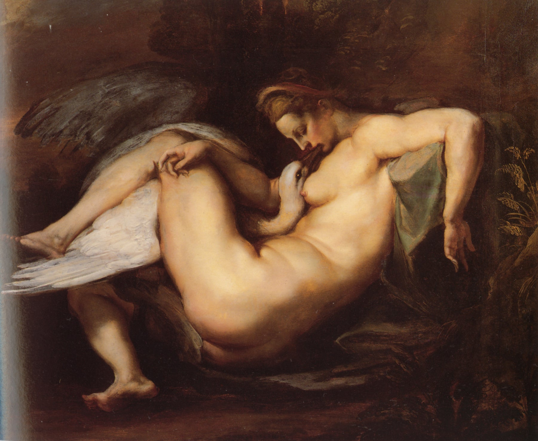 Leda and the Swan by Peter Paul Rubens Reproduction Oil Painting on Canvas