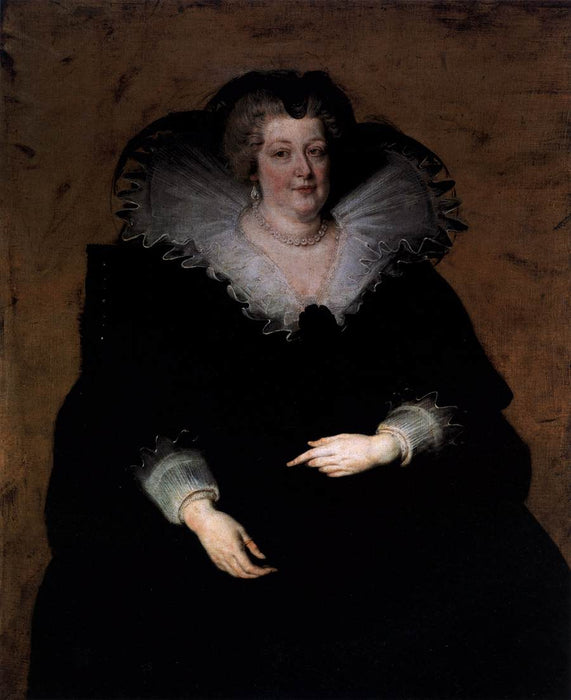 Marie de Medici by Genii by Peter Paul Rubens Reproduction Oil Painting on Canvas