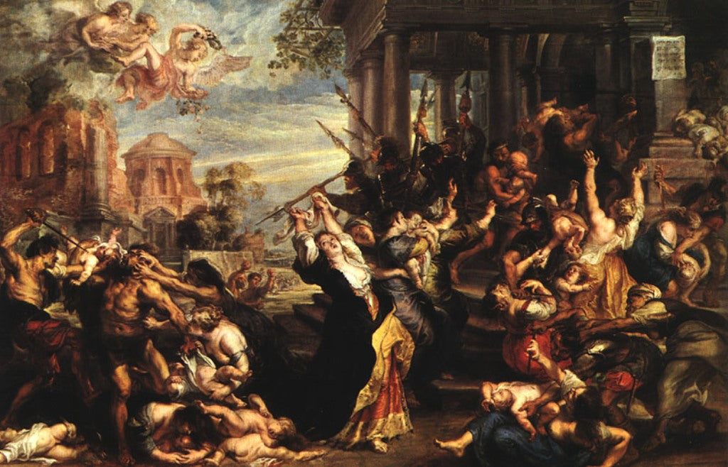 Massacre of the Innocents by Peter Paul Rubens Reproduction Oil Painting on Canvas