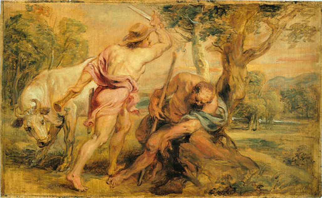Mercury and Argus by Peter Paul Rubens Reproduction Oil Painting on Canvas
