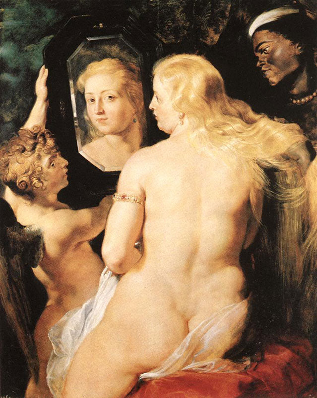 Morning Toilet of Venus by Peter Paul Rubens Reproduction Oil Painting on Canvas