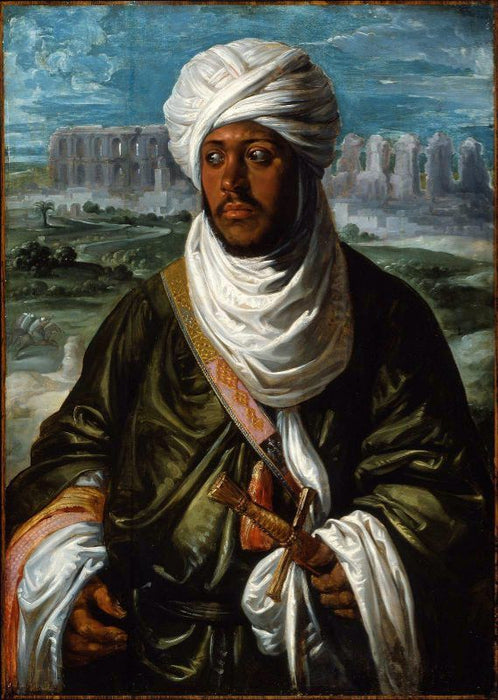 Mulay Ahmad by Peter Paul Rubens Reproduction Oil Painting on Canvas