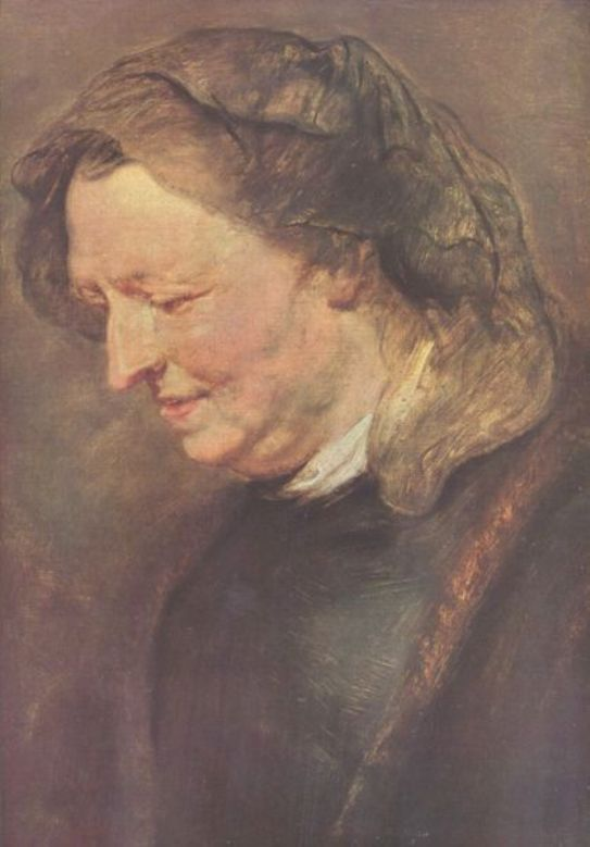Old woman by Peter Paul Rubens Reproduction Oil Painting on Canvas