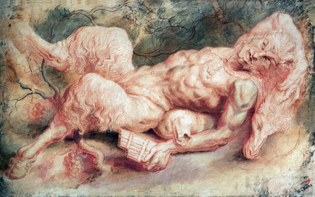 Pan Reclining by Peter Paul Rubens Reproduction Oil Painting on Canvas