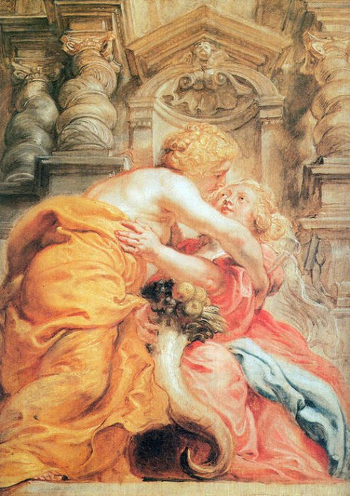 Peace and Abundance by Peter Paul Rubens Reproduction Oil Painting on Canvas