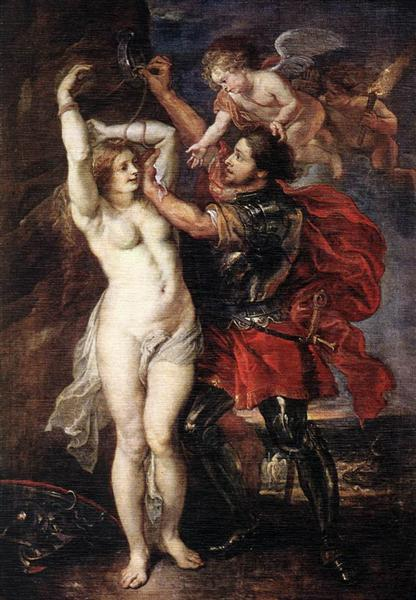 Perseus and Andromeda by Peter Paul Rubens Reproduction Oil Painting on Canvas