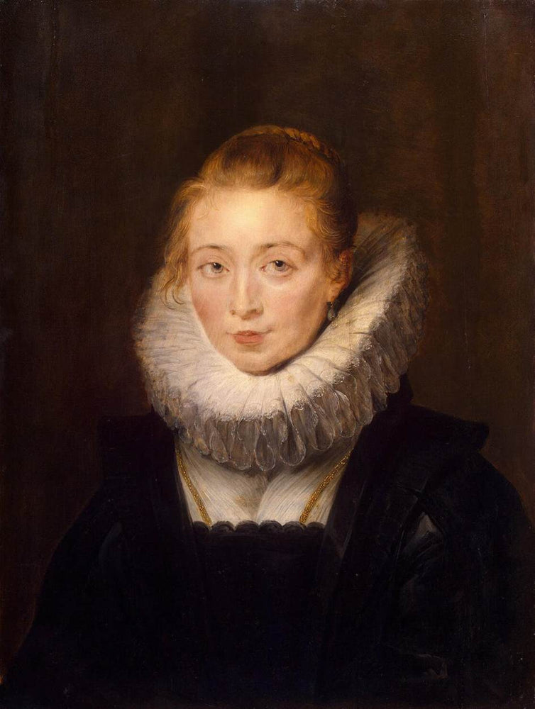 Portrait of a Chambermaid of Infanta Isabella by Peter Paul Rubens Reproduction Oil Painting on Canvas