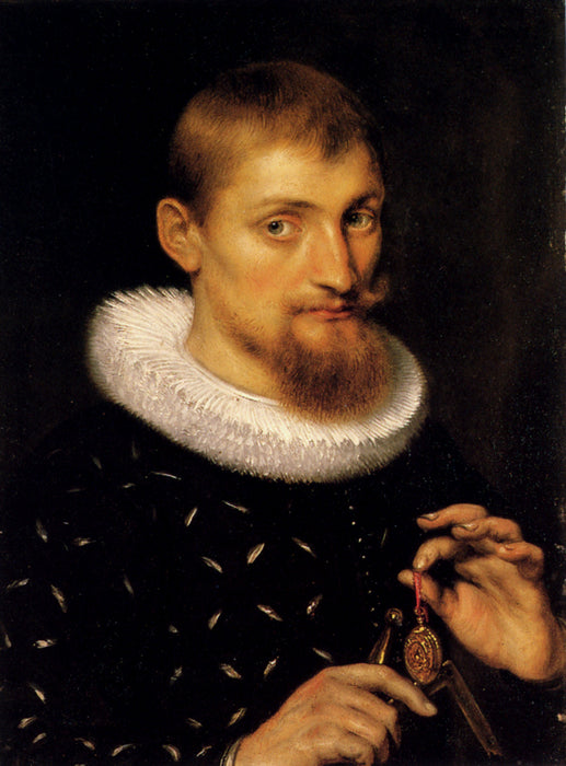 Portrait of a Man by Peter Paul Rubens Reproduction Oil Painting on Canvas