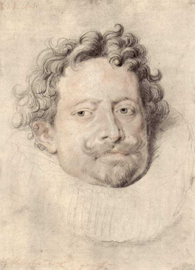 Portrait of Don Diego Messina by Peter Paul Rubens Reproduction Oil Painting on Canvas