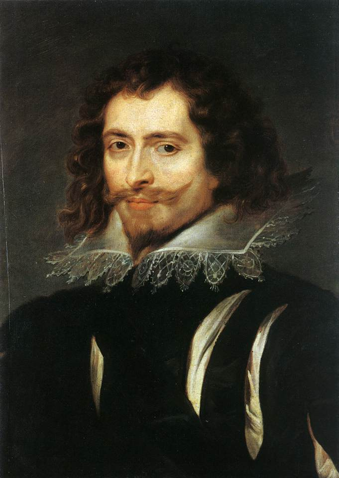 Portrait of George Villiers, 1st Duke of Buckingham by Peter Paul Rubens Reproduction Oil Painting on Canvas