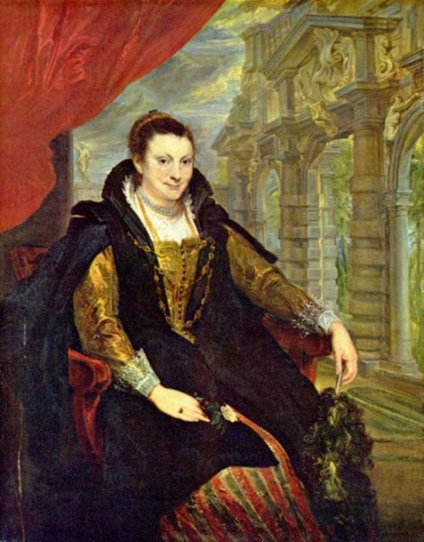 Portrait of Isabella Brandt by Peter Paul Rubens Reproduction Oil Painting on Canvas