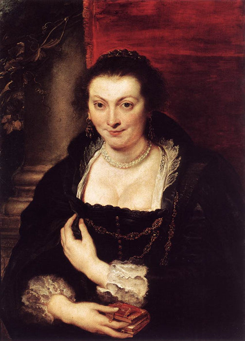 Portrait of Isabella Brant by Peter Paul Rubens Reproduction Oil Painting on Canvas