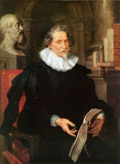 Portrait of Ludovicus Nonnius by Peter Paul Rubens Reproduction Oil Painting on Canvas