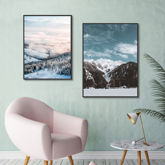 Winter at Nordic Canvas Art Print, Wall Art, Home Decor - Showcase 2