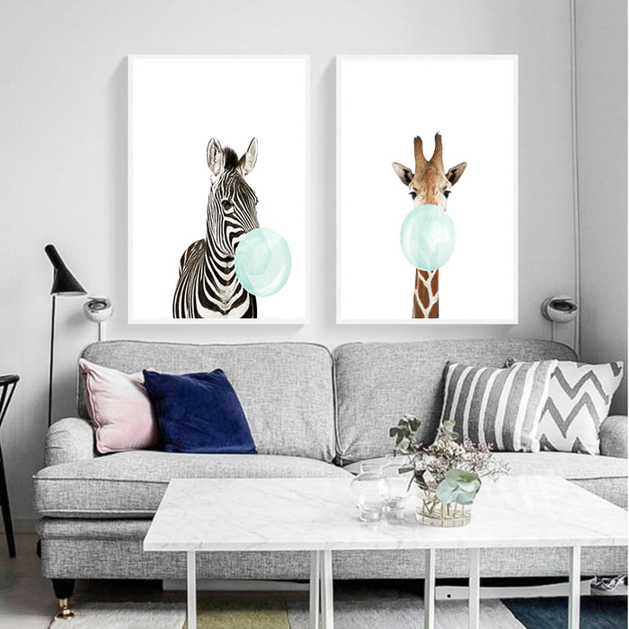 Zebra Giraffe Koala and Kangaloo