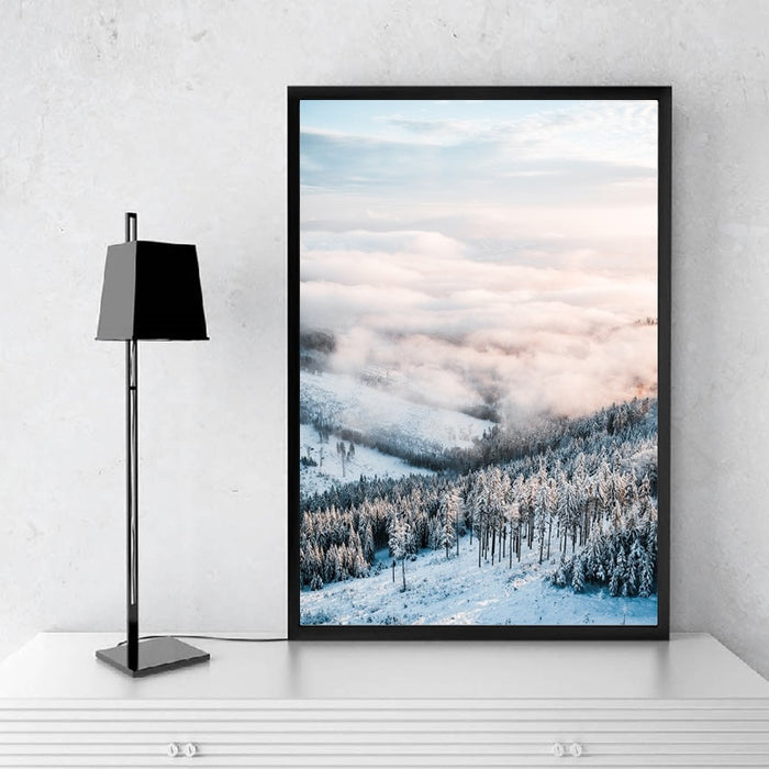 Winter at Nordic Canvas Art Print, Wall Art, Home Decor - Showcase 5