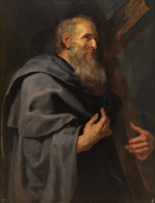 St. Philip by Peter Paul Rubens Reproduction Oil Painting on Canvas