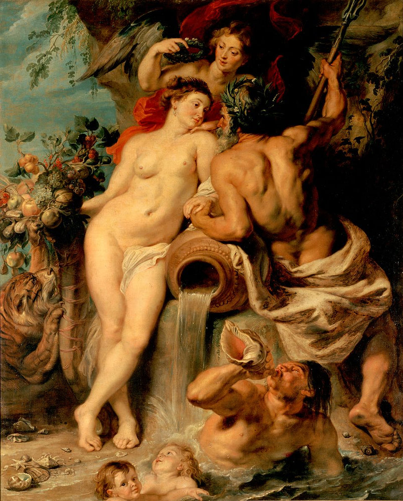 The Union of Earth and Water by Peter Paul Rubens Reproduction Oil Painting on Canvas
