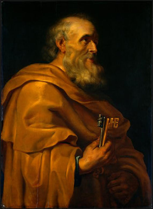 Saint Peter by Peter Paul Rubens Reproduction Oil Painting on Canvas