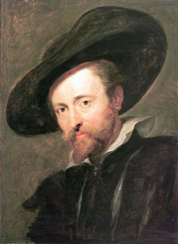 Self-Portrait by Peter Paul Rubens Reproduction Oil Painting on Canvas