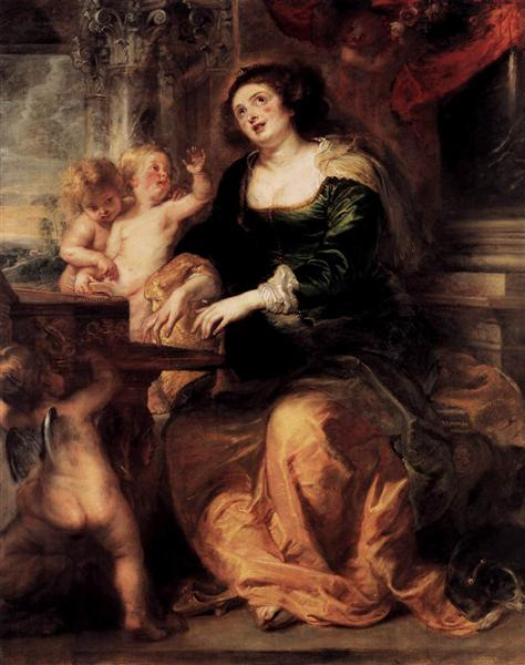 St. Cecilia by Peter Paul Rubens Reproduction Oil Painting on Canvas