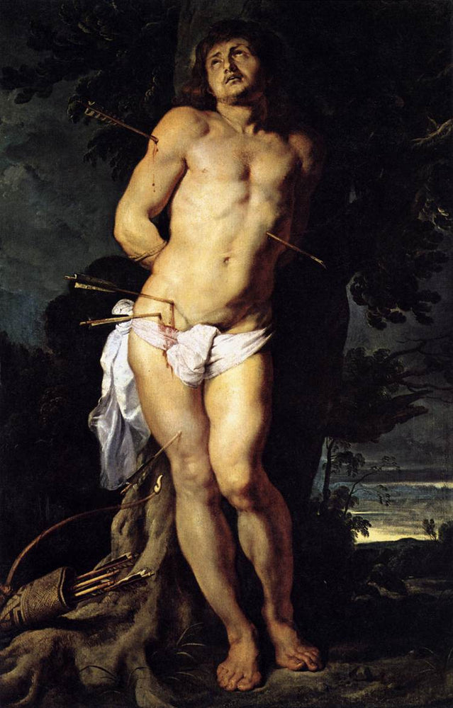 St. Sebastian by Peter Paul Rubens Reproduction Oil Painting on Canvas