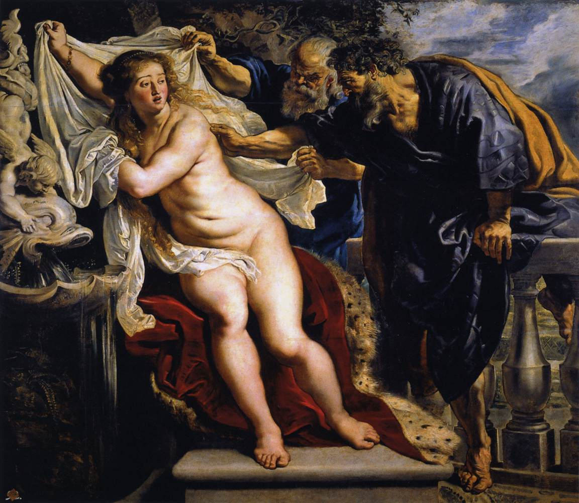 Susanna and the Elders by Peter Paul Rubens Reproduction Oil Painting on CanvasSusanna and the Elders by Peter Paul Rubens Reproduction Oil Painting on Canvas