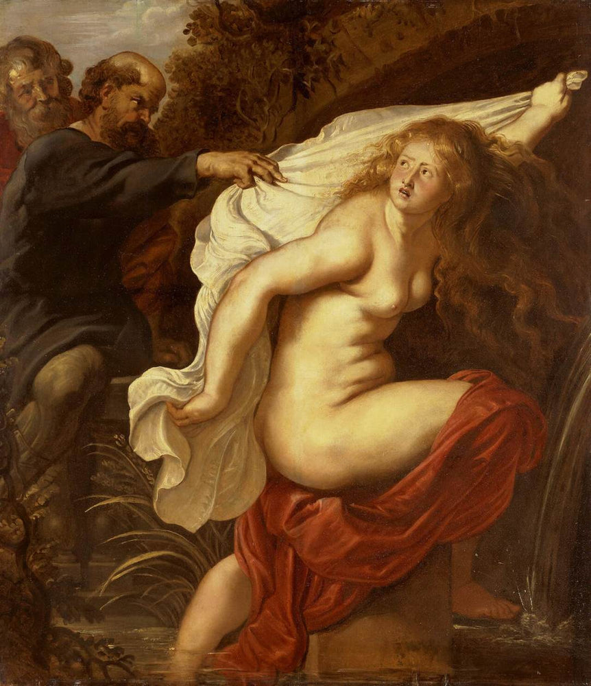 Susanna and the Elders by Peter Paul Rubens Reproduction Oil Painting on Canvas