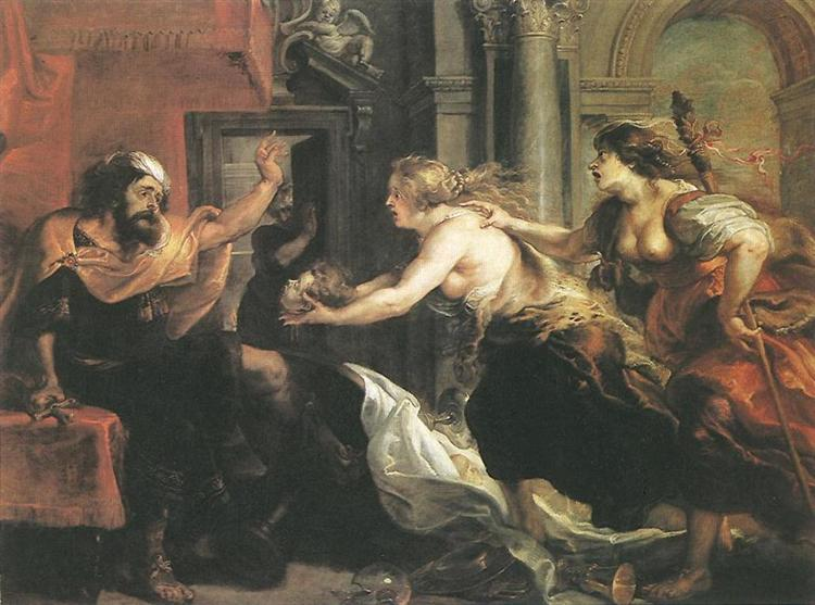 Tereus Confronted with the Head of His Son Itylus by Peter Paul Rubens Reproduction Oil Painting on Canvas