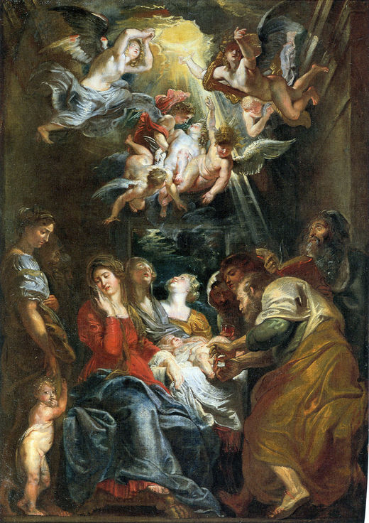 The Circumcision of Christ by Peter Paul Rubens Reproduction Oil Painting on Canvas