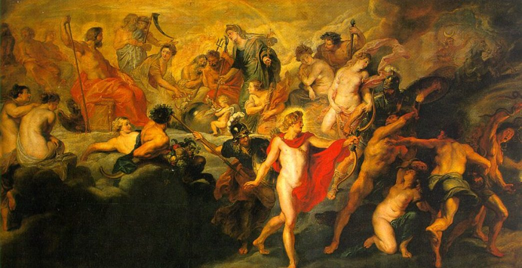 The Council of the Gods by Peter Paul Rubens Reproduction Oil Painting on Canvas