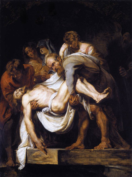 The Entombment by Peter Paul Rubens Reproduction Oil Painting on Canvas