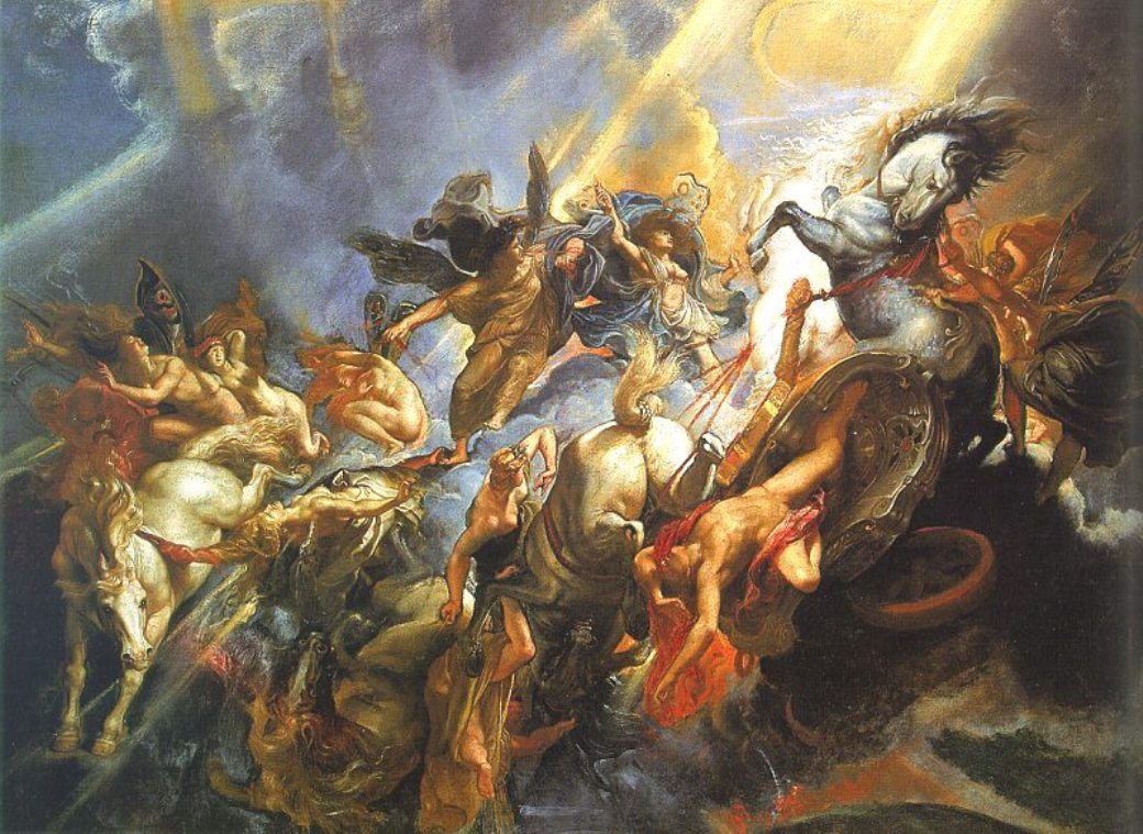 The Fall of Phaeton by Peter Paul Rubens Reproduction Oil Painting on Canvas