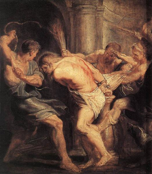 The Flagellation of Christ by Peter Paul Rubens Reproduction Oil Painting on Canvas