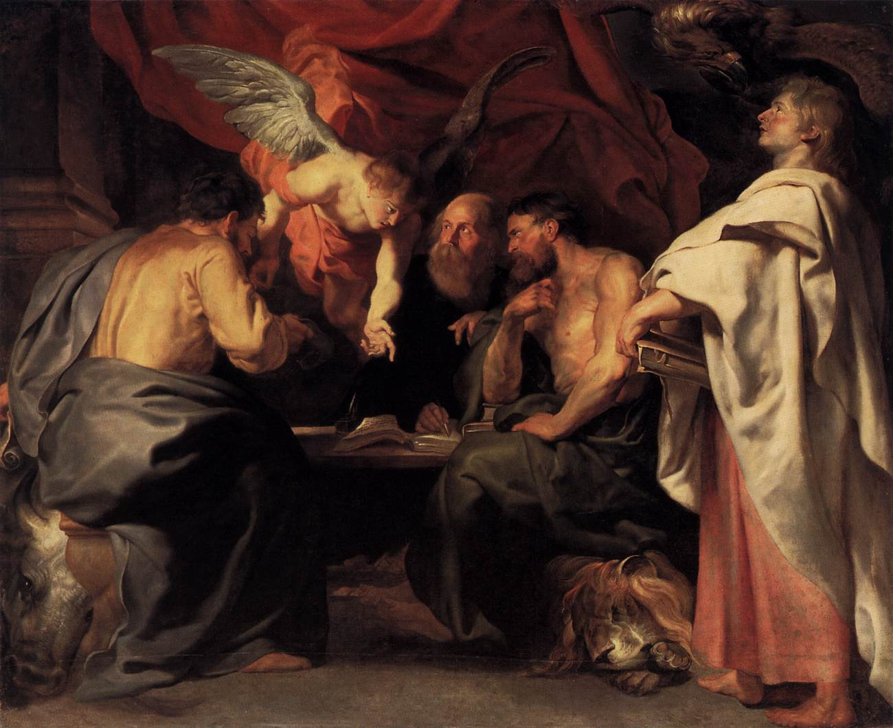 The Four Evangelists by Peter Paul Rubens Reproduction Oil Painting on Canvas