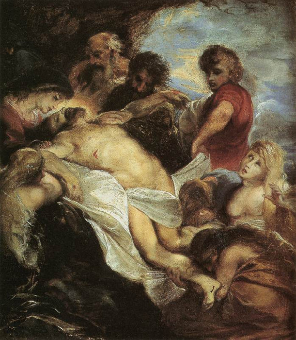 The Lamentation by Peter Paul Rubens Reproduction Oil Painting on Canvas