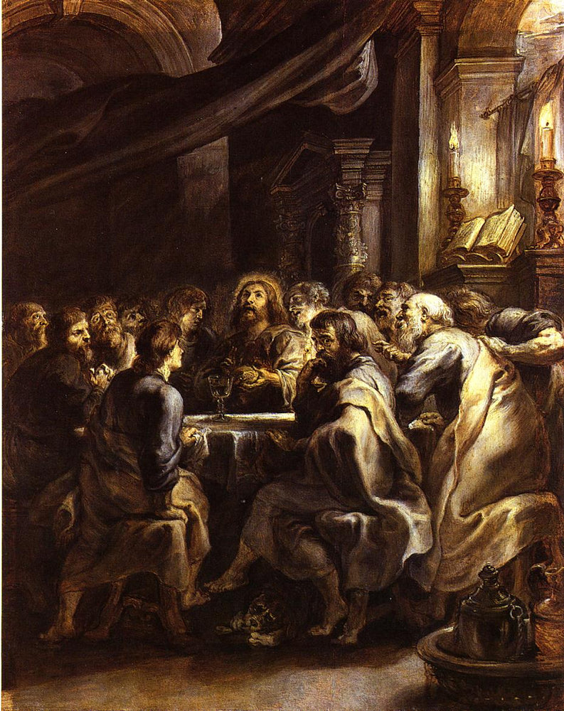 The Last Supper by Peter Paul Rubens Reproduction Oil Painting on Canvas