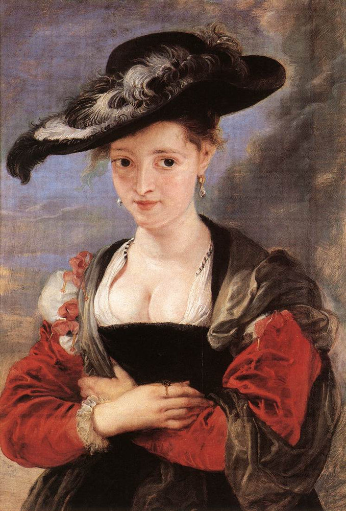 The Straw Hat by Peter Paul Rubens Reproduction Oil Painting on Canvas