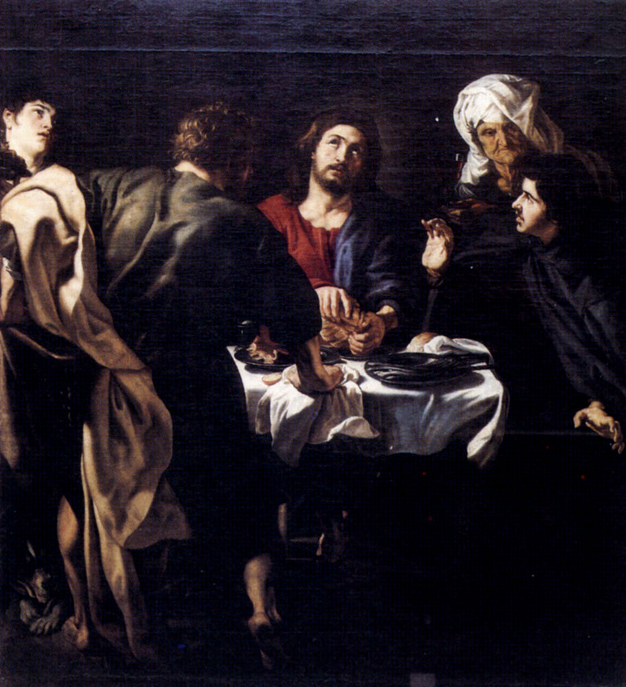 The Supper at Emmaus by Peter Paul Rubens Reproduction Oil Painting on Canvas