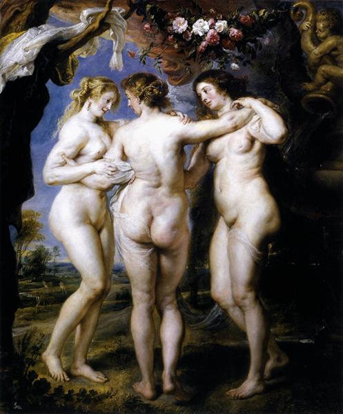 The Three Graces by Peter Paul Rubens Reproduction Oil Painting on Canvas