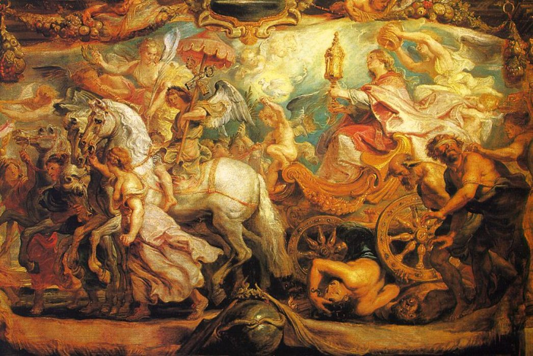 The Triumph of the Church by Peter Paul Rubens Reproduction Oil Painting on Canvas