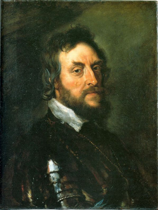 Thomas Howard, Second Count of Arundel by Peter Paul Rubens Reproduction Oil Painting on Canvas