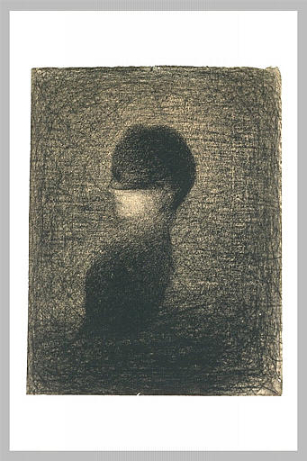 Voilette by Georges Seurat Reproduction Painting by Blue Surf Art