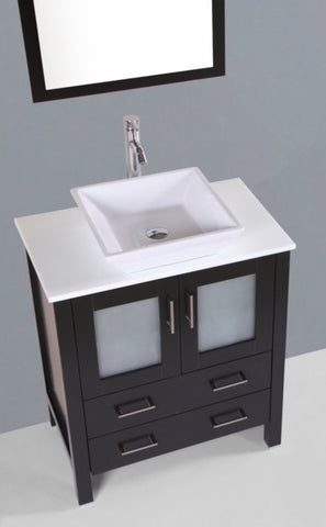 "Image of 30"" Bosconi AB130S Single Vanity"