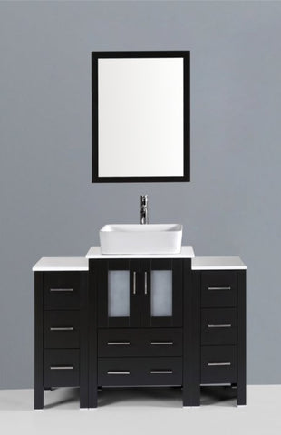 "Image of 48"" Bosconi AB124RC2S Single Vanity"