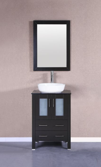 "24"" Bosconi AB124BWLBG Single Vanity"