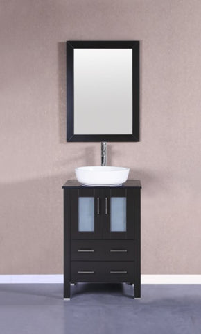"Image of 24"" Bosconi AB124BWLBG Single Vanity"