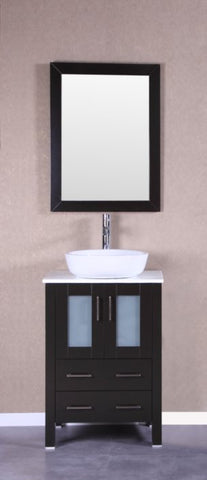 "Image of 24"" Bosconi AB124BWLPS Single Vanity"