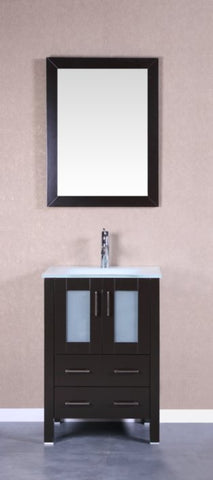"Image of 24"" Bosconi AB124EWGU Single Vanity"