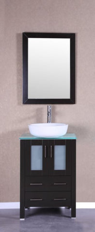 "24"" Bosconi AB124BWLCWG Single Vanity"